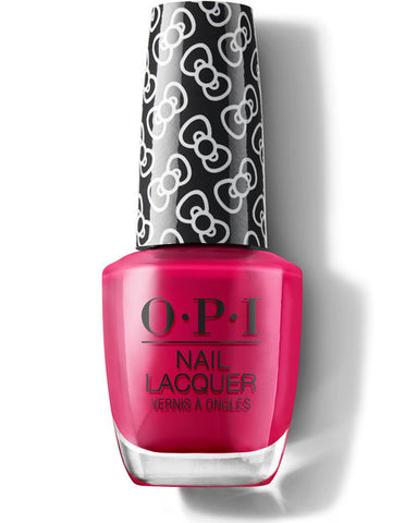 HP L04 - OPI Regular Lacquer  -  ALL ABOUT THE BOWS - HELLO KITTY COLLECTION