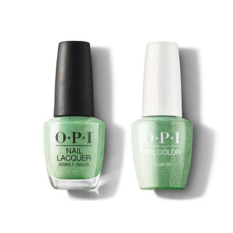 SR6 - OPI Gel color & Lacquer Duo set - Gleam On