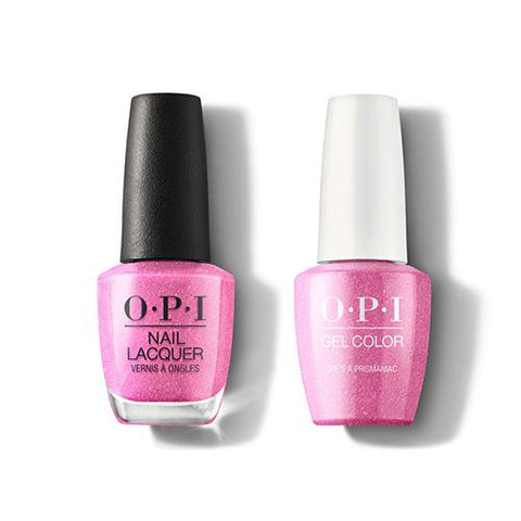 SR3 - OPI Gel color & Lacquer Duo set -She's a Prismaniac