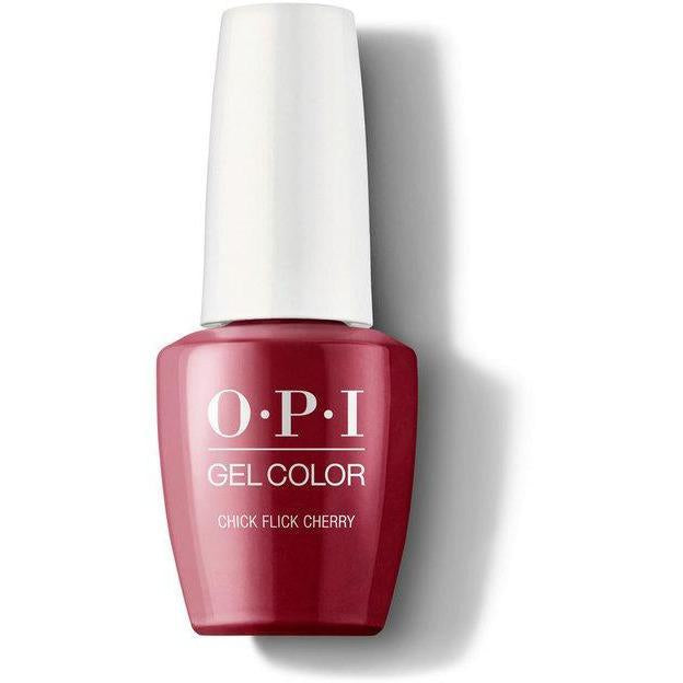 GC H02 - OPI GelColor - Chick Flick Cherry 0.5 oz
