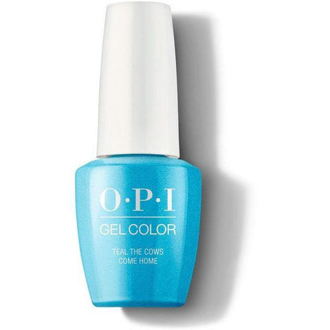GC B54 - OPI GelColor - Teal the Cows Come Home 0.5 oz
