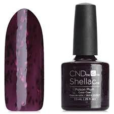 CND Shellac - Poison Plum