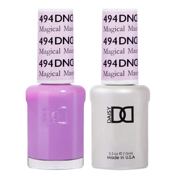 494 - DND Duo Gel - Magical Mauve