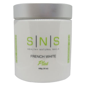SNS - DIP POWDER - FRENCH WHITE - 16 OZ