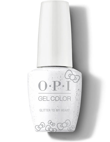 HP L01 - OPI Gel Color - GLITTER TO MY HEART - HELLO KITTY COLLECTION