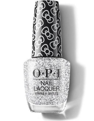 HP L01 - OPI Regular Lacquer  - GLITTER TO MY HEART - HELLO KITTY COLLECTION