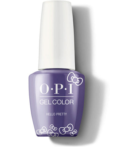 HP L07- OPI Gel Color - HELLO PRETTY - HELLO KITTY COLLECTION