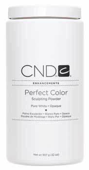 CND Perfect Color Powder - Pure White (Opaque) - 32 Oz