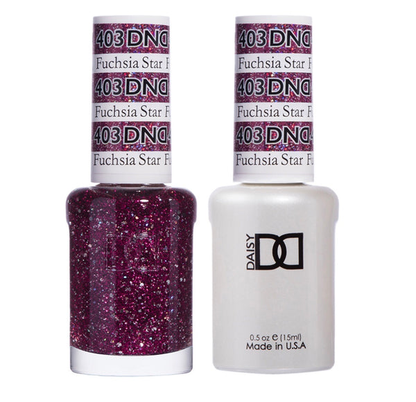 403 - DND Duo Gel- Fuchsia Star