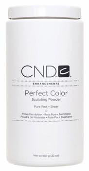 Cnd Perfect Color Powder Pure Pink Sheer 32 Oz Salonsupplyplus