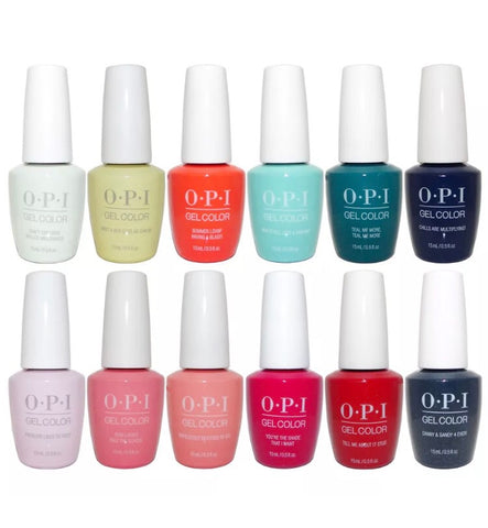 OPI Gel color  - Grease Summer 2018 Collection - 12 Colors