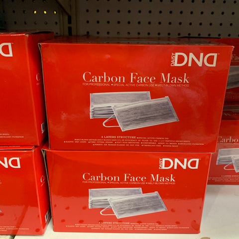 DND carbon Face Masks - 50 Pack