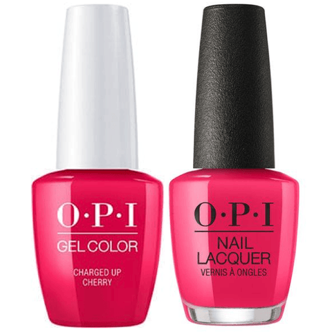 B35 OPI Gel color & Lacquer Duo set - Charged Up Cherry