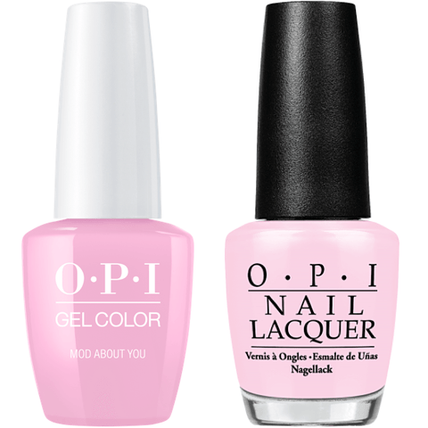 B56 OPI Gel color & Lacquer Duo set - Mod About You