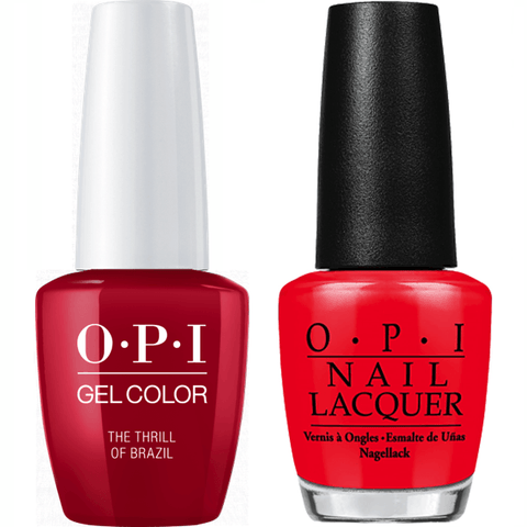 A16 OPI Gel color & Lacquer Duo set - The Thrill Of Brazil