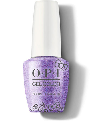 HP L06- OPI Gel Color - PILE ON THE SPRINKLES - HELLO KITTY COLLECTION