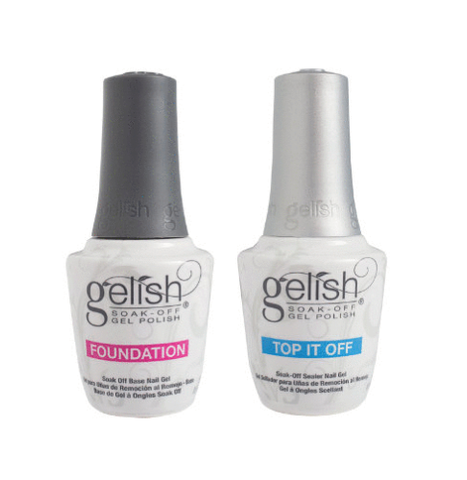 Harmony Gelish - Foundation Base & Top Coat