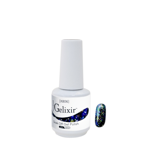 Gelixir X Collection - Glitter Gel Color – X806