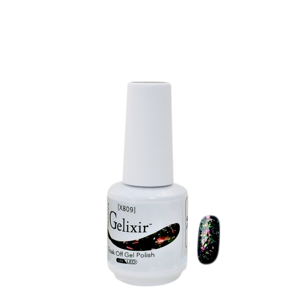 Gelixir X Collection - Glitter Gel Color – X809