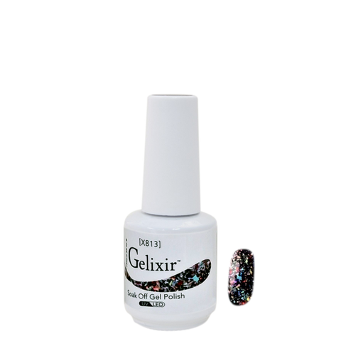 Gelixir X Collection - Glitter Gel Color – X813