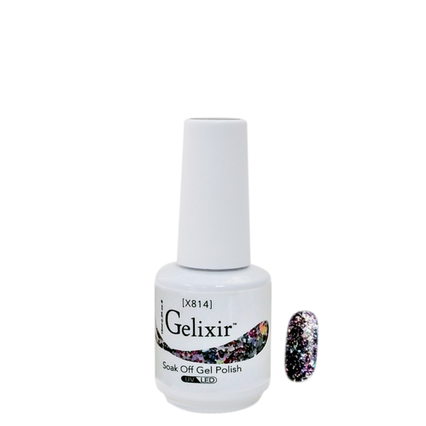 Gelixir X Collection - Glitter Gel Color – X814