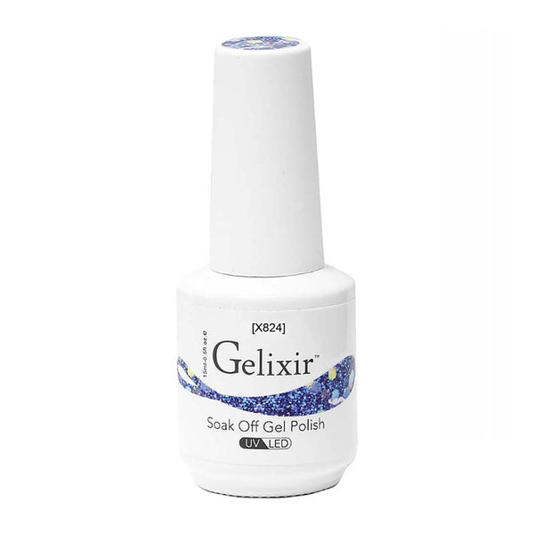 Gelixir X Collection - Glitter Gel Color – X824