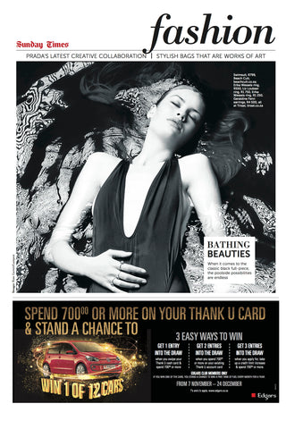 BeachCult's Venus in the Sunday Times