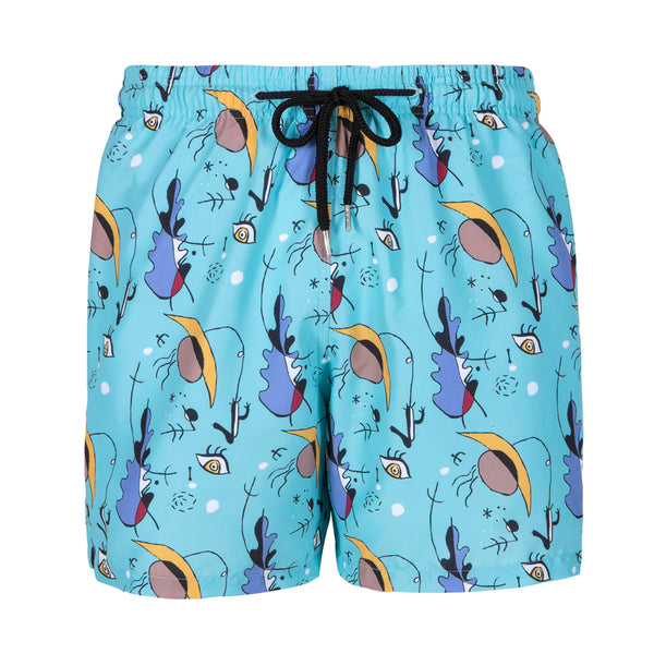 Men's Swim Trunks - Blue Karoo