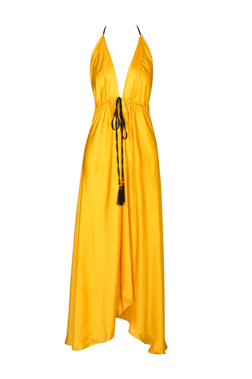 Ibiza Dress - Turmeric (PREORDER ONLY)