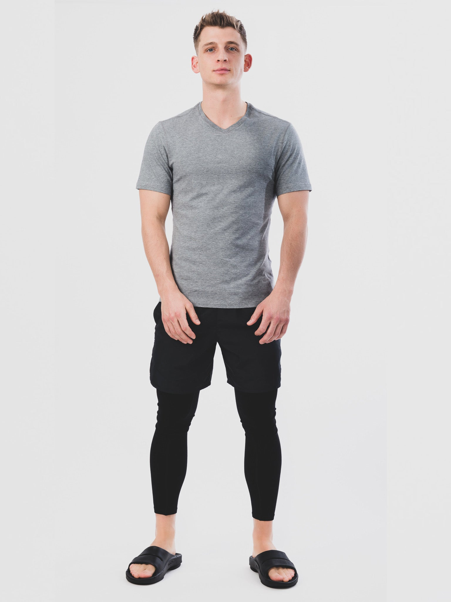 Men's OOahh Sport Matt Black Full Length