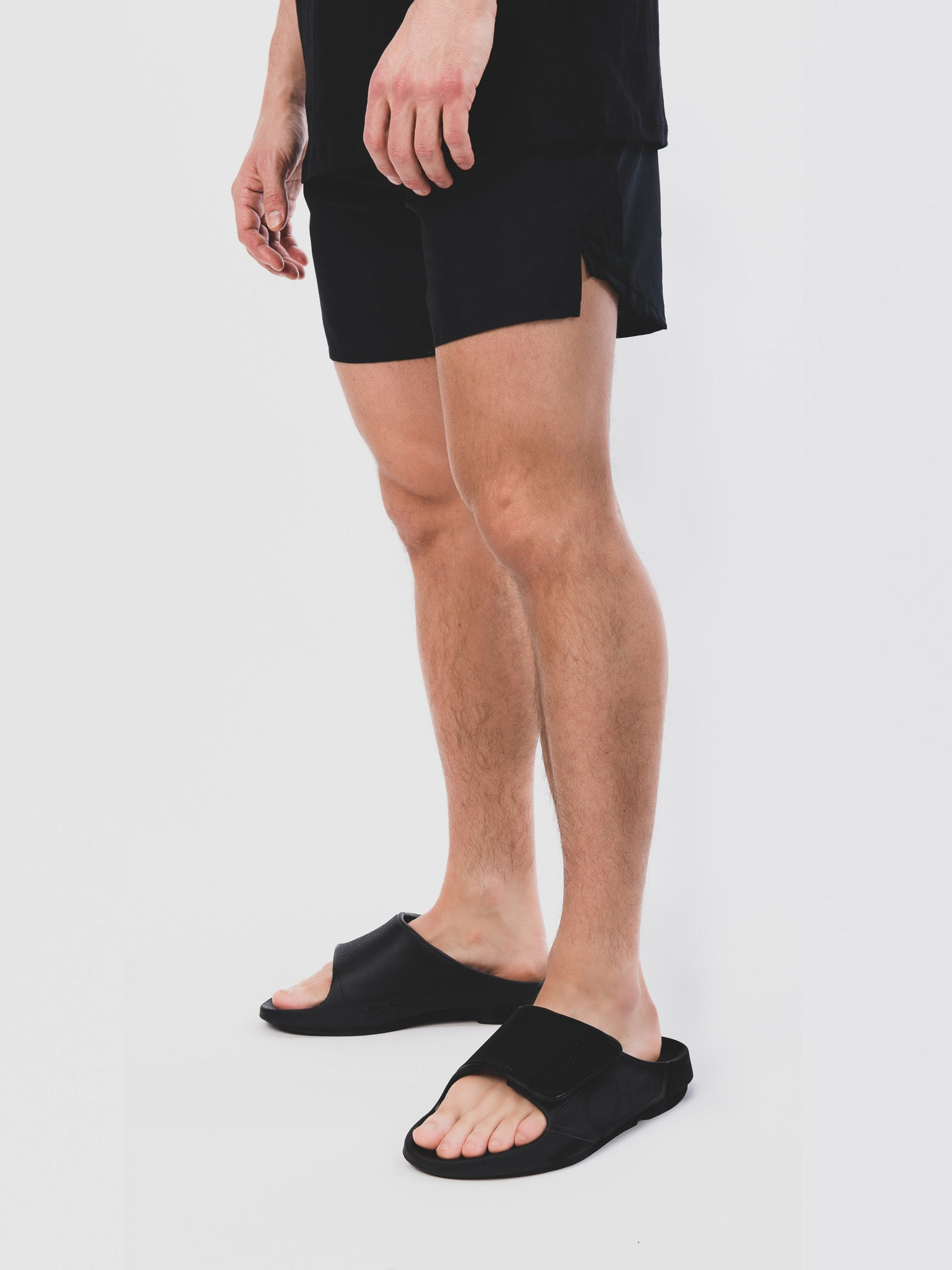 Men's OOahh Sport Flex Matt Black Knee Down