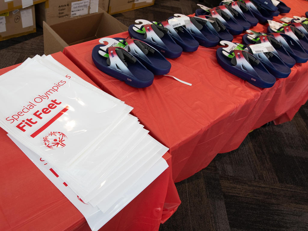 OOFOS Special Olympics New Jersey