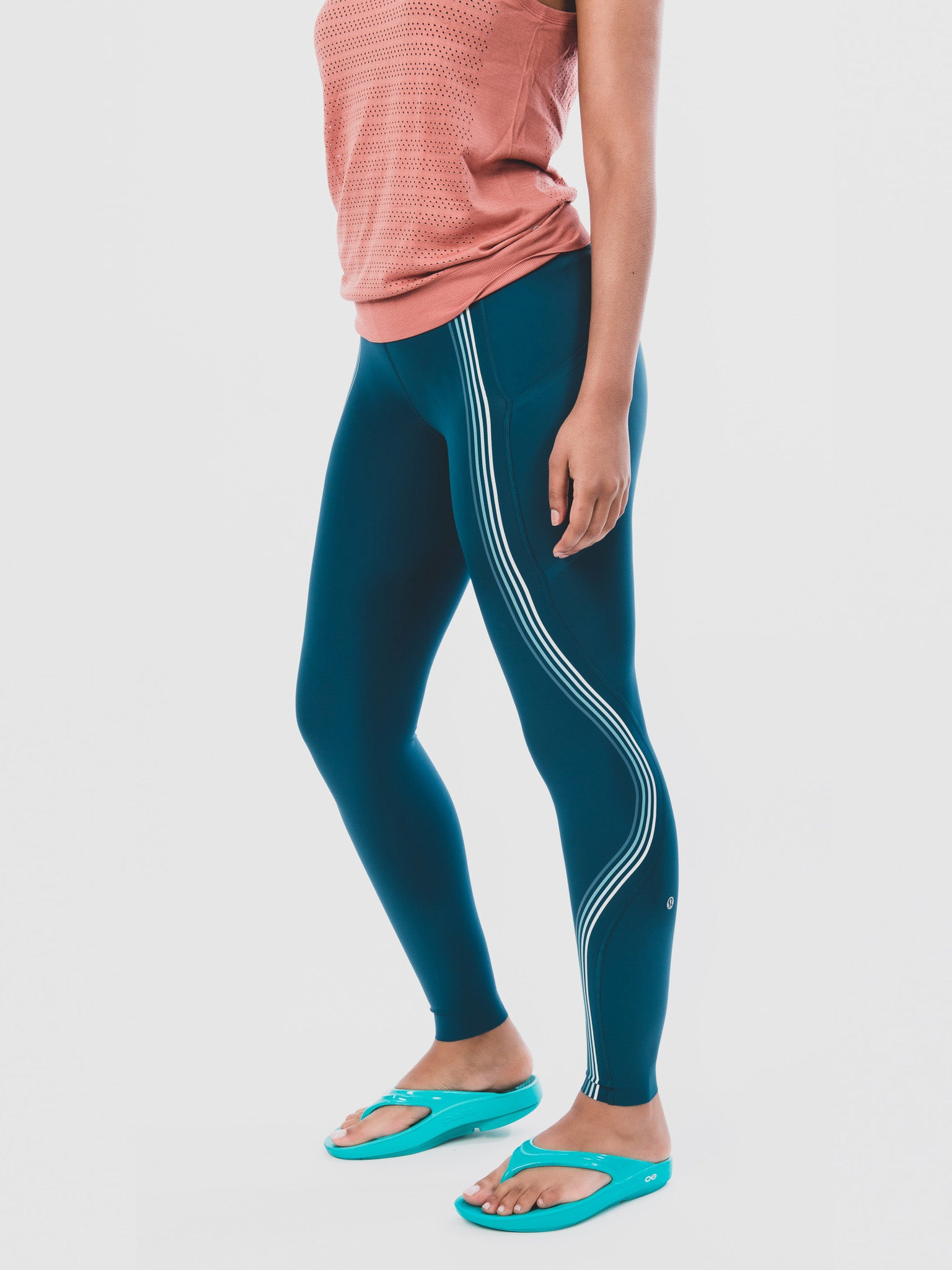 Women's OOlala Teal Knee Down