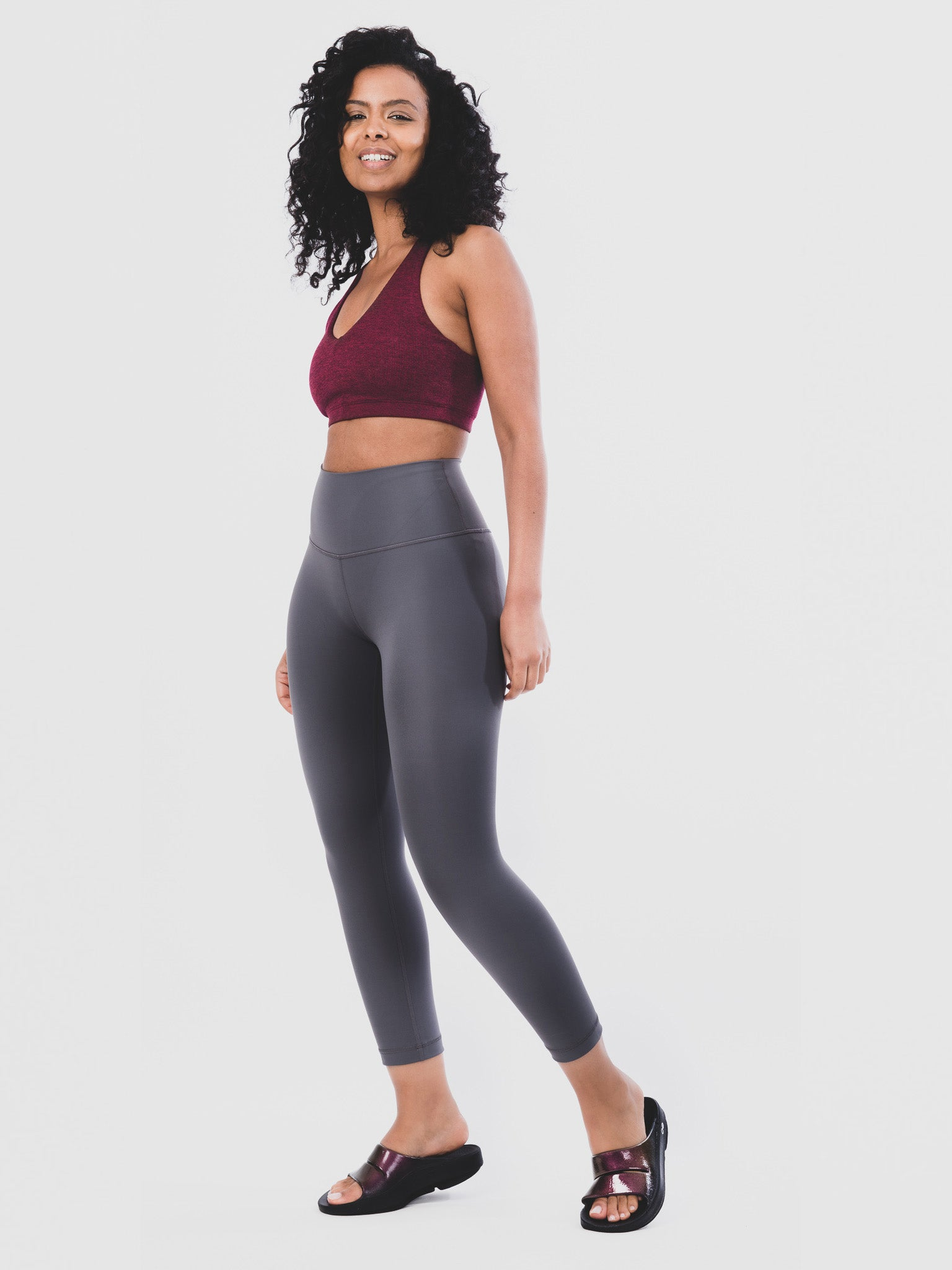 Women's OOahh Luxe Cabernet Full Length