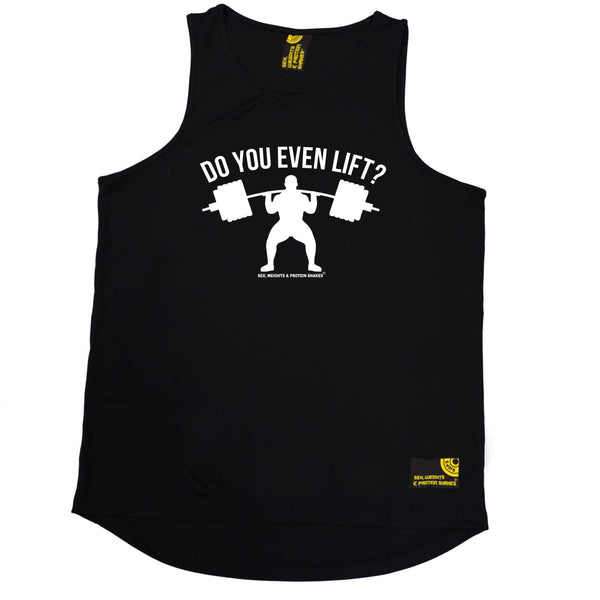 Sex Weights and Protein Shakes Gym Bodybuilding Vest - Do You Even Lift - Dry Fit Performance Vest Singlet