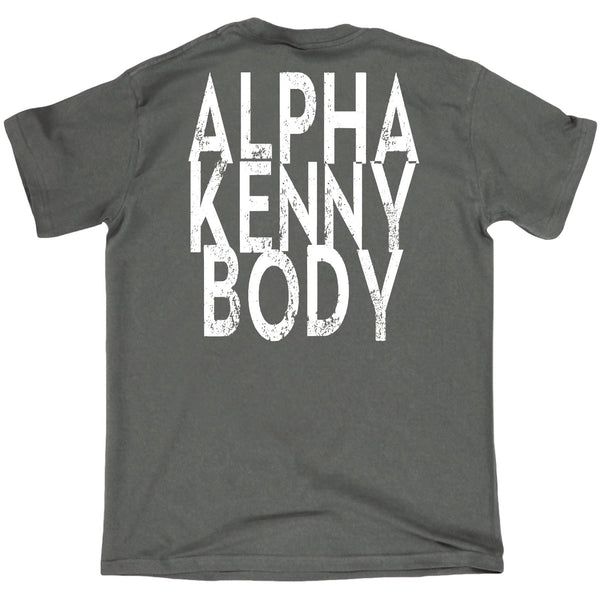 FB Sex Weights and Protein Shakes Gym Bodybuilding Tee - Alpha Kenny Body - Mens T-Shirt