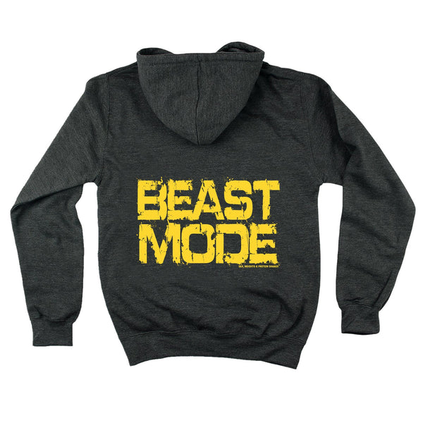 FB Sex Weights and Protein Shakes Gym Bodybuilding Tee - Beast Mode -  Womens Fitted Cotton T-Shirt Top T Shirt