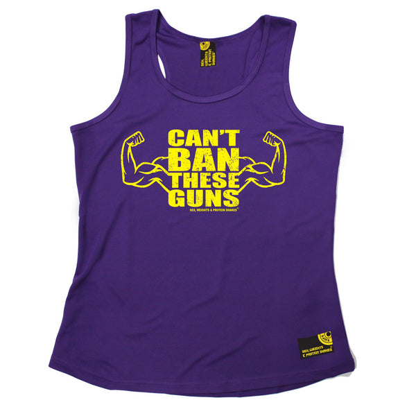 Can't Ban These Guns Girlie Performance Training Cool Vest