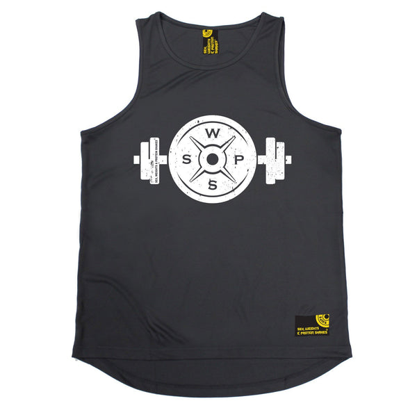 SWPS Weight Dumbbell Design Sex Weights And Protein Shakes Gym Men's Training Vest