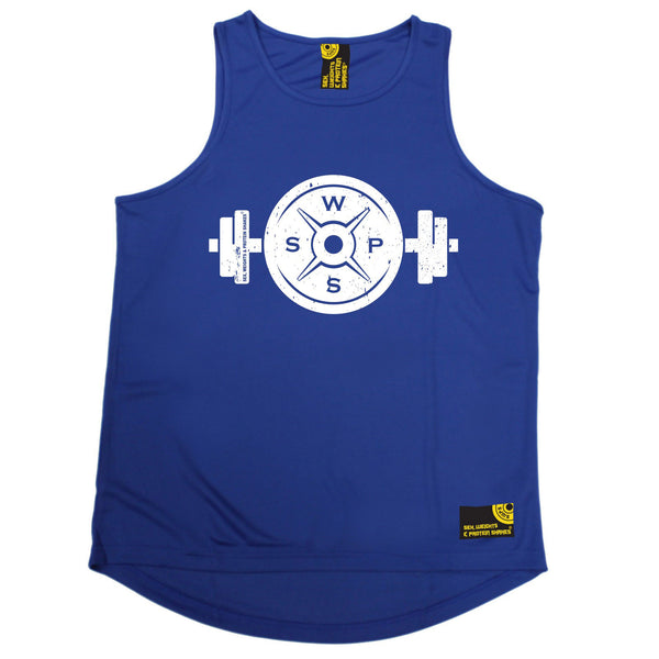 Weight Plate Dumbbell Design Performance Training Cool Vest