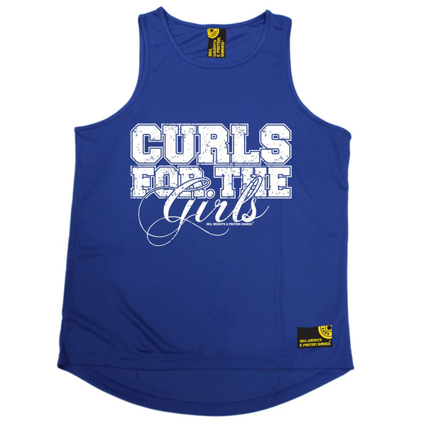 Curls For The Girls Performance Training Cool Vest