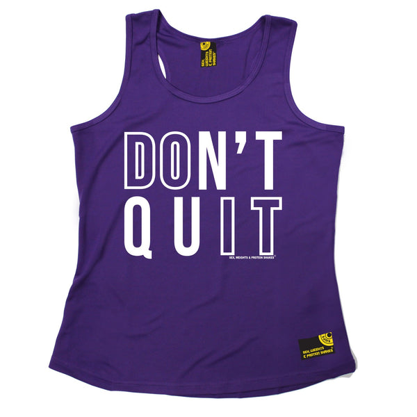 Don't Quit Girlie Performance Training Cool Vest