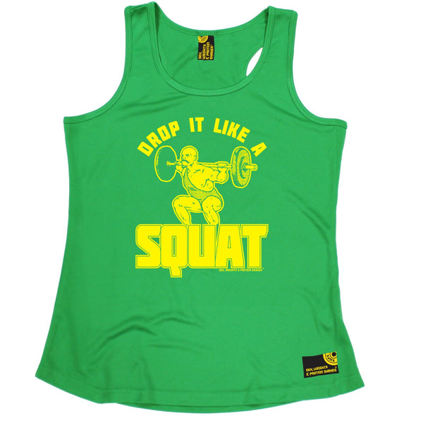 Drop It Like A Squat Girlie Performance Training Cool Vest