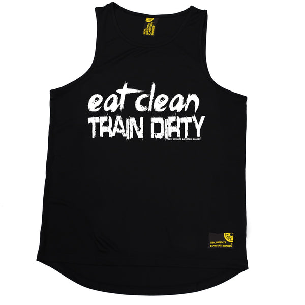 Eat Clean Train Dirty Performance Training Cool Vest