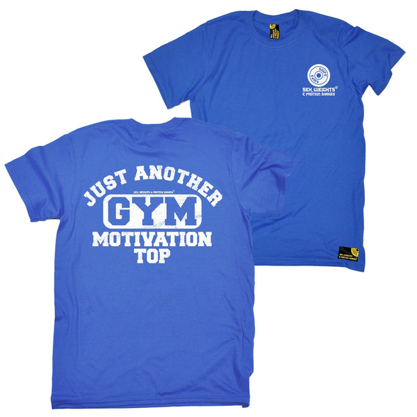 FB Sex Weights and Protein Shakes Gym Bodybuilding Tee - Just Another Gym Motivational Top - Mens T-Shirt