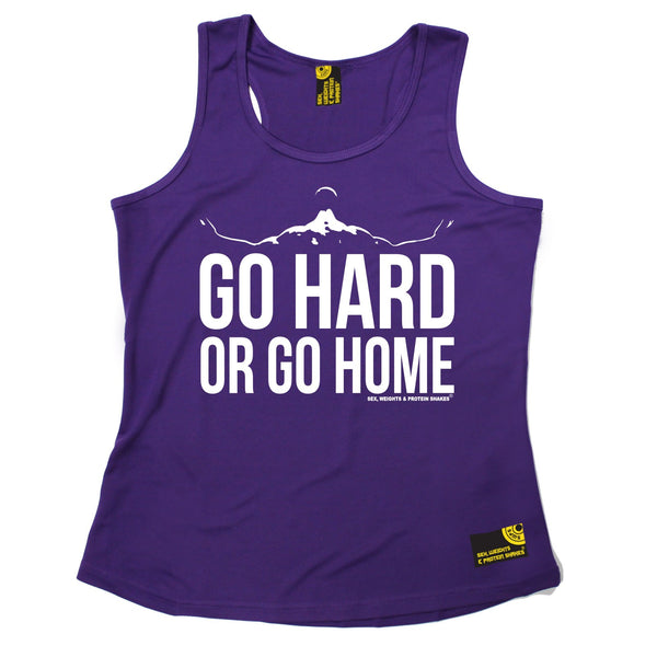 Go Hard Or Go Home Girlie Performance Training Cool Vest