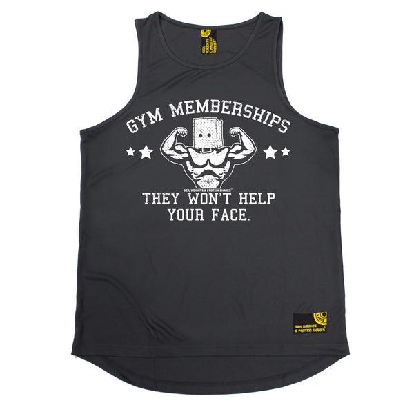 Gym Memberships They Won't Help Your Face Performance Training Cool Vest