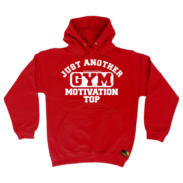 Just Another Gym Motivation Top Hoodie