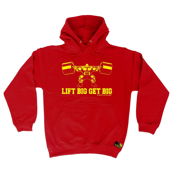 Sex Weights and Protein Shakes Lift Big Get Big Sex Weights And Protein Shakes Gym Hoodie