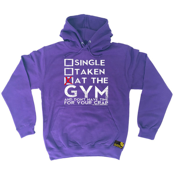 Sex Weights and Protein Shakes Single Taken At The Gym Sex Weights And Protein Shakes Hoodie